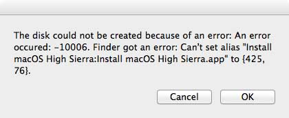 SOLVED] How to create a MacOS High Sierra boot disk on USB thumb